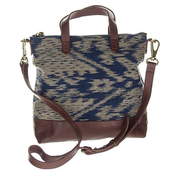 1cb71af026df Madewell Handbags - Madewell The Mini Transport Crossbody Ikat Print